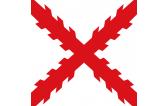 Bandera Cruz San Andres